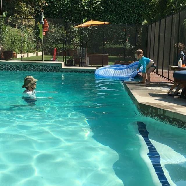 """I'm not done."" Thanks, @paulswimz! #swimmingtoddler"
