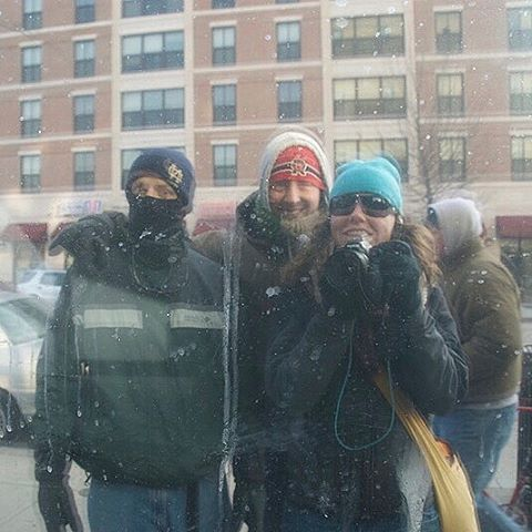 Eight years ago, my dad, cousin and I went to the presidential inauguration. We had each voted for a different candidate in the 2008 election. The city was freezing cold that day, but brimming with excitement and love. It was also my first date with Jake (and his sister and cousin and many friends). What an incredible memory. #tbt #inauguration